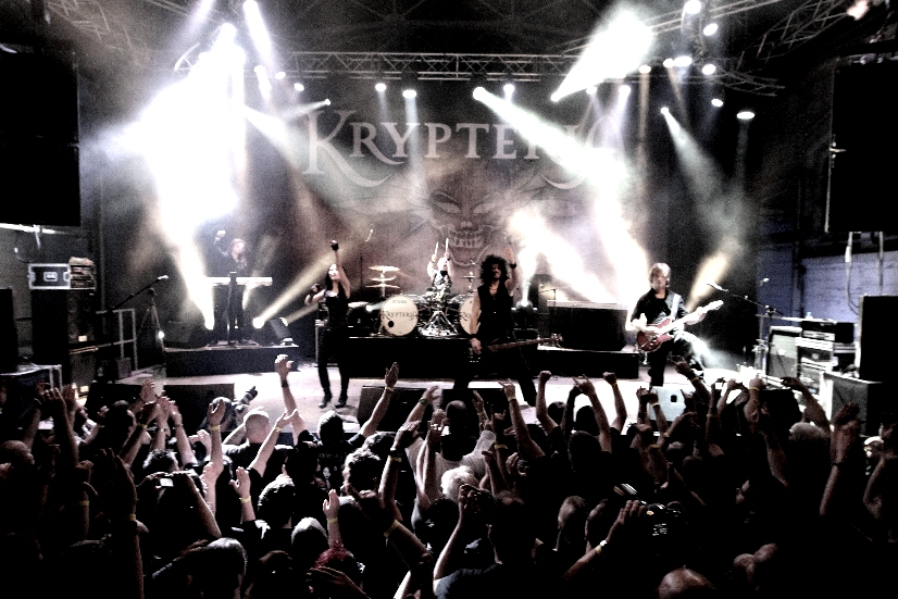 KRYPTERIA 2011 live on stage, Photo: Lucia Zanders