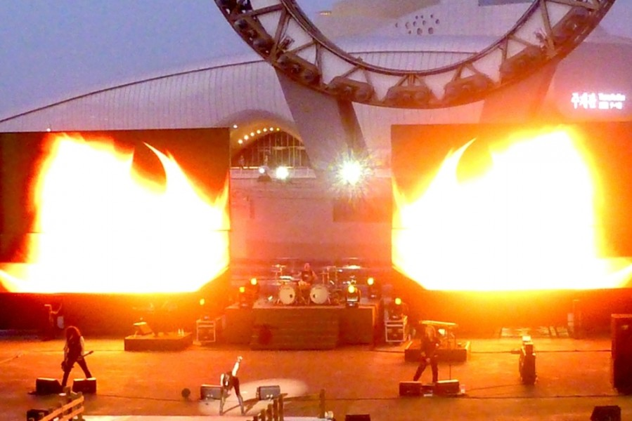 KRYPTERIA live on stage in Yeosu/KOR, May 2012